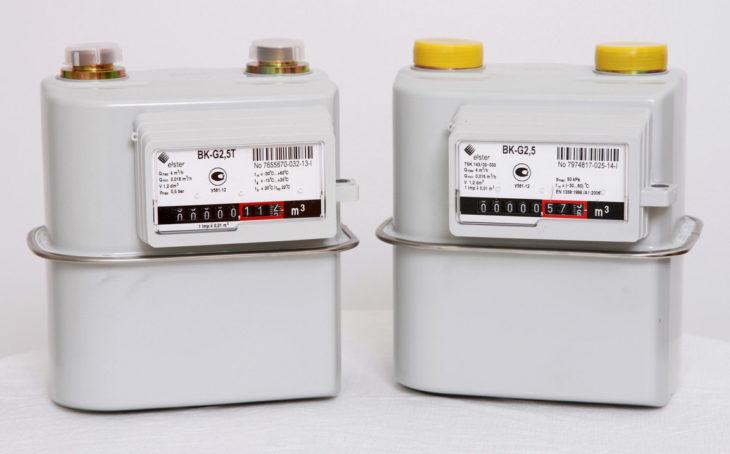 счётчики bk g2.5 и bk g2.5t