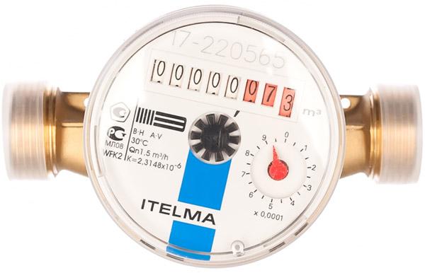 Вид счётчика - itelma