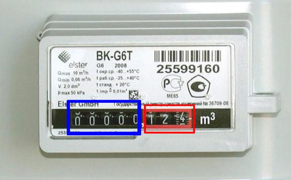 Снятие показаний со счётчика BK G1.6 и BK G1.6Т