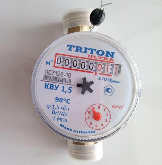 Вид счётчика - Тритон