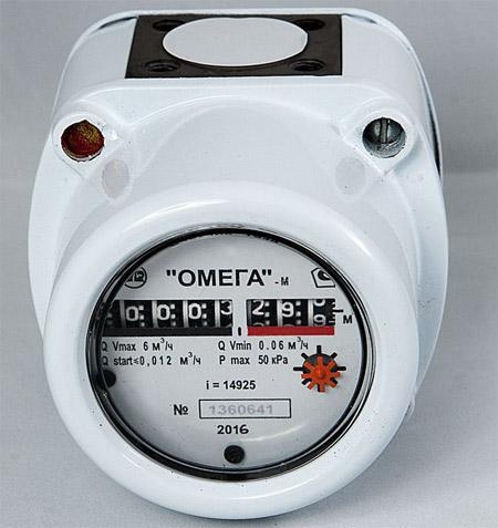Ротационный счётчик газа - Омега РЛ G4 и G6