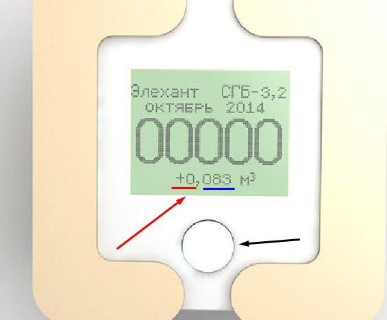 Ультразвуковой счётчик газа - Элехант СГБ-3.2
