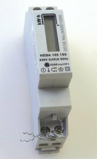 Вид счётчика - Нева 105