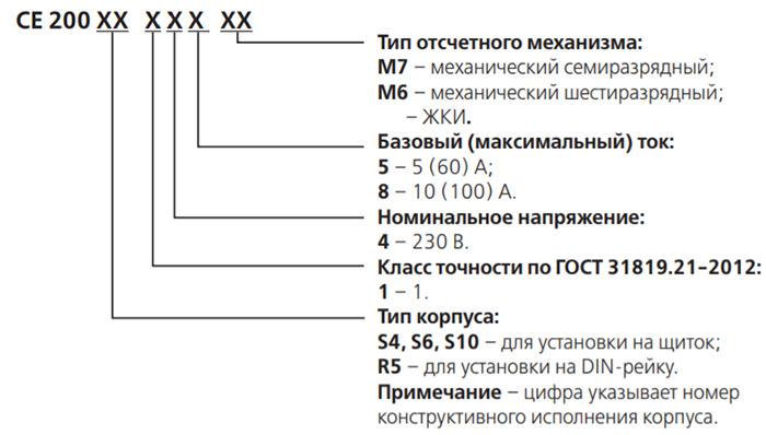 Однофазный счётчик электроэнергии - Энергомера СЕ200